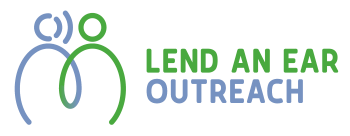Lend an ear outreach logo